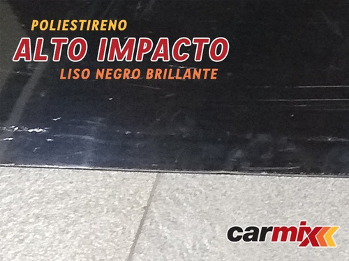placa alto impacto liso 1,10x1,80 mts espesor 3 mm 6 cuotas!