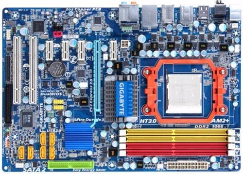 placa am2+ am3 gigabyte ga ma770ud3 12usb/6sata/ide/com/lpt