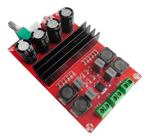 placa amplificador 200w rms + decodificador bluetooth 2x100w