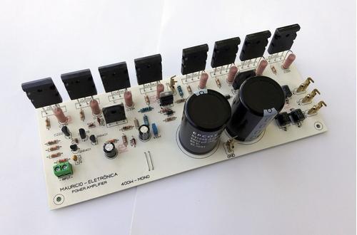 placa amplificador 400w,fonte embutida,ativar caixas,sub,etc