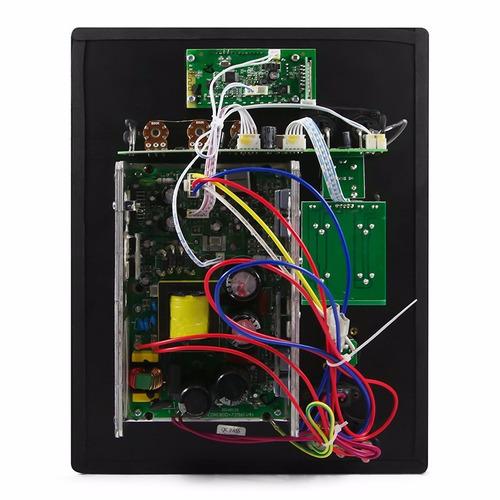 placa amplificador bi-amp p caixa som ativa c/ decodificador
