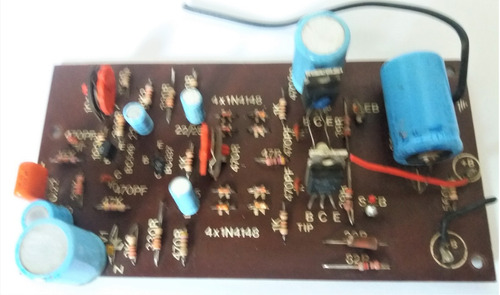 placa amplificador  csr al 2040 mono - sem saidas
