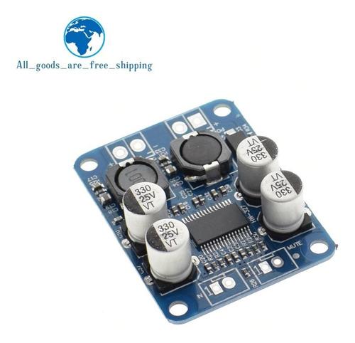 placa amplificador dclass mono 60w tpa3118 / 12 vdc