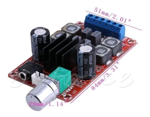 placa amplificador digital 100w