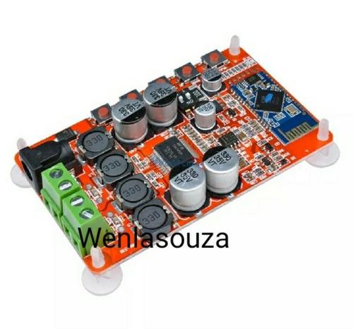 placa amplificadora bluetooth 50 w + 50 w
