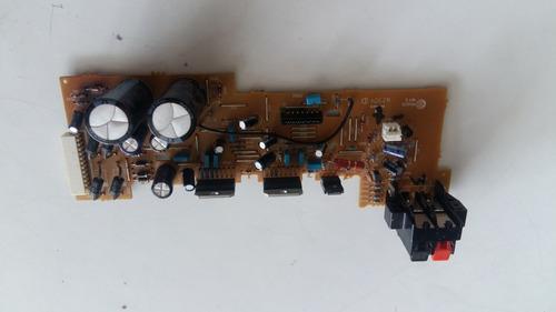 placa amplificadora som gradiente as-470