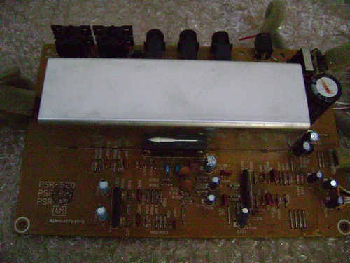 placa amplificadora teclado yamaha psr520 / psr620