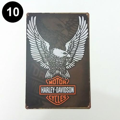 placa antiga fusca retrô vintage harley café frete grátis