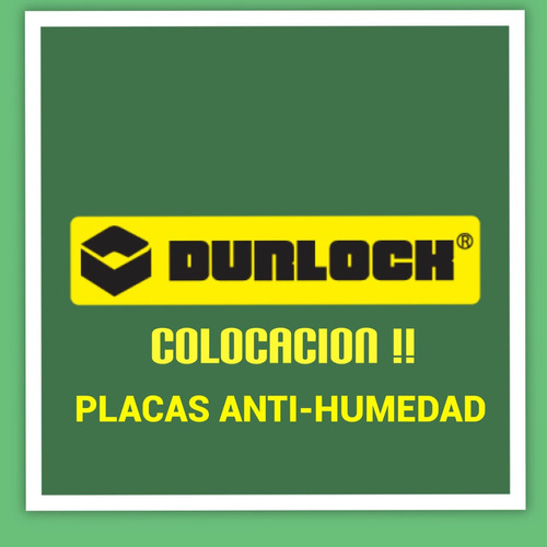 placa antihumedad  colocacion durlock ! materiales incluidos