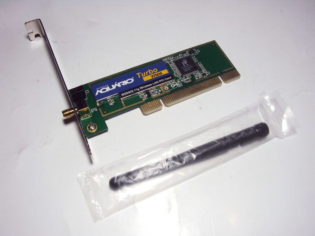 driver placa rede pci wireless aquario