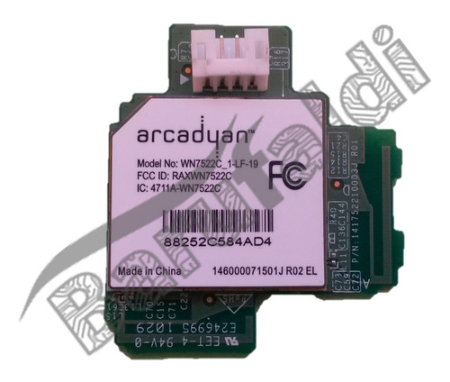 placa arcadyan eat60665601 141752210003j raxwn7522c