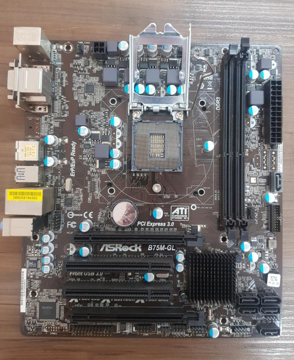 Asrock B75M-GL Motherboard Drivers Download