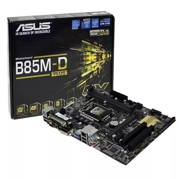 DOWNLOAD DRIVERS: ASUS B85M-D PLUS
