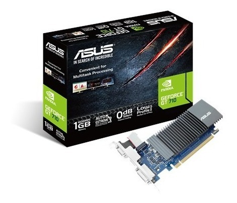 PLACA DE VIDEO ASUS GFORCE GT710 1GB (GT710-SL-1GD5-BRK)
