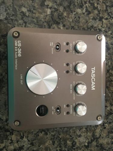 placa áudio interface