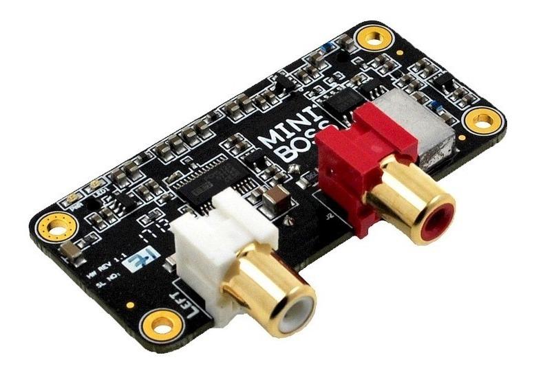 Placa Audio Sonido Dac I2s Raspberry Pi Zero Mini Boss