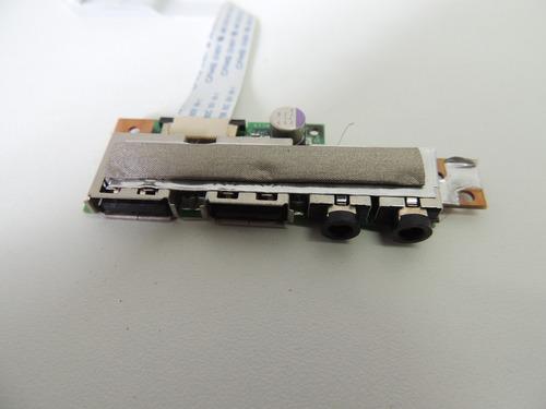 placa áudio / usb de notebook positivo 3d sim+ 5160 usado