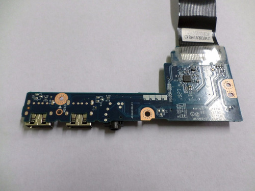 placa áudio + usb notebook lenovo ideapad s400 touch