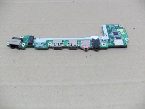 placa auxiliar audio rede usb netbook acer aspire 1410
