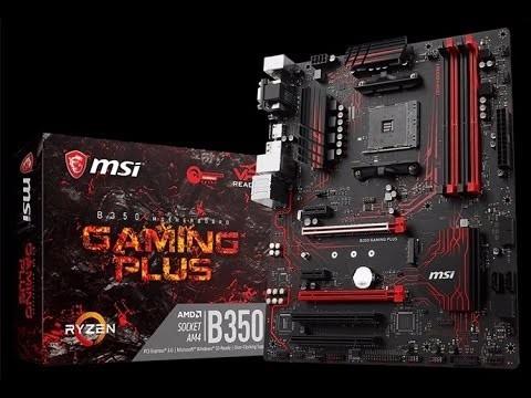 placa base msi b350 gaming plus