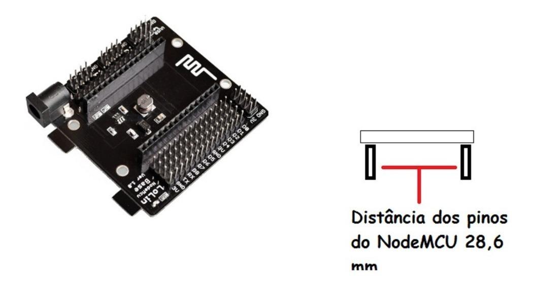 Placa Base Nodemcu V3 Adaptador Esp8266 Lolin