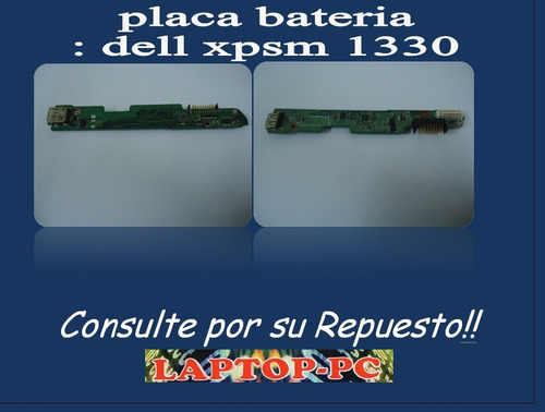 placa bateria dell xps m 1330