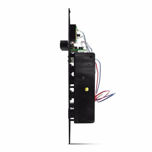 placa bi-amp 500w 2 canais montada ideal para ativar caixas