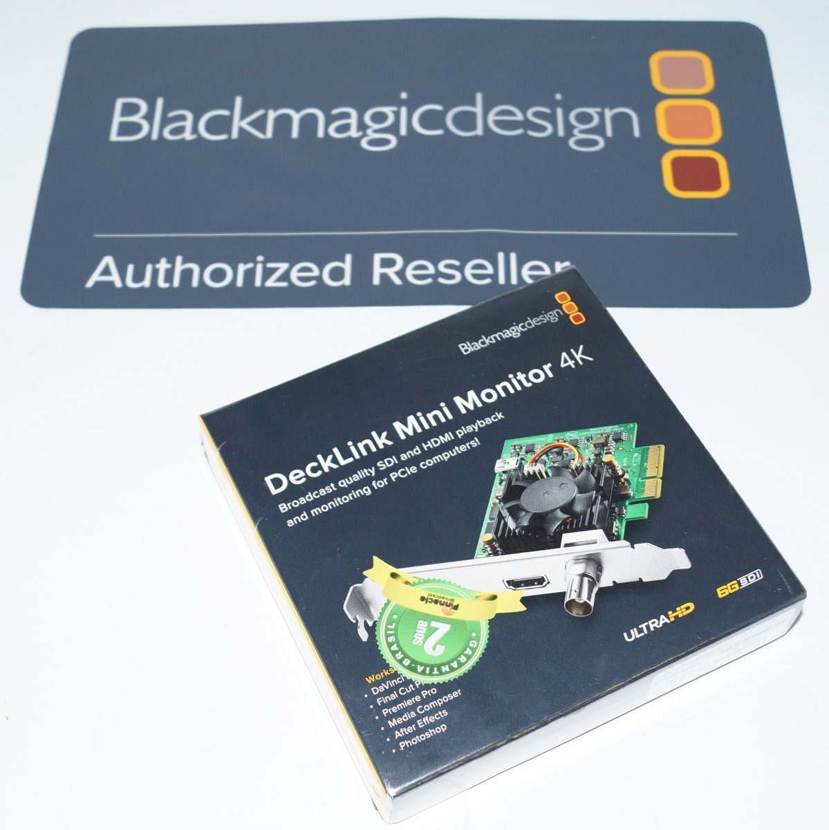 Placa Blackmagic Decklink Mini Monitor 4k - Pronta Entrega