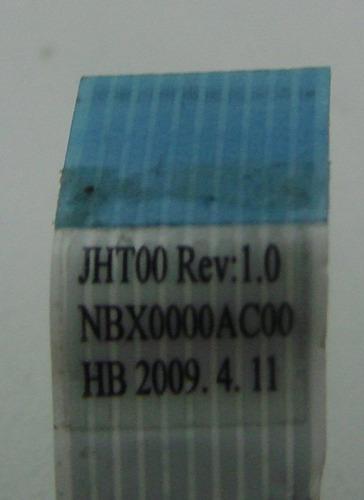 placa botao power intelbrás 1420 - notebook ls-4244p