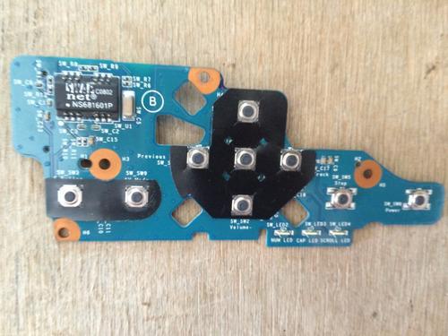 placa botao power sony pcg vgn-fz series