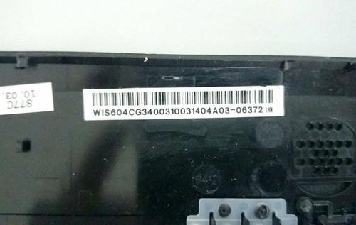 placa botão liga desl modelo: wis604cg3400310031404a03-06372