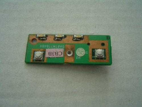 placa botão liga notebook dell latitude c640  da0tm7tb4b6