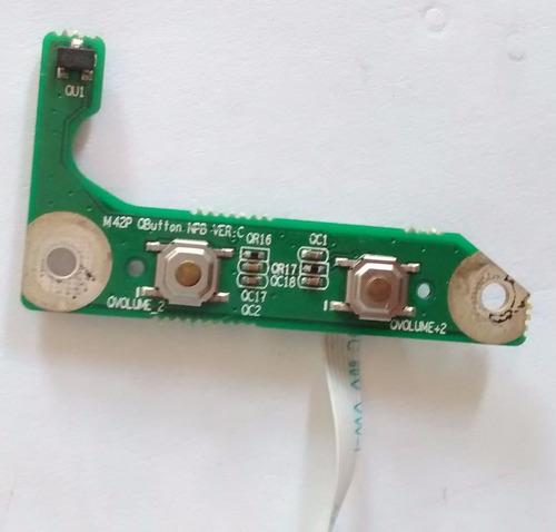 placa botão multimidia (volume) hbuster hbnb 1402/200
