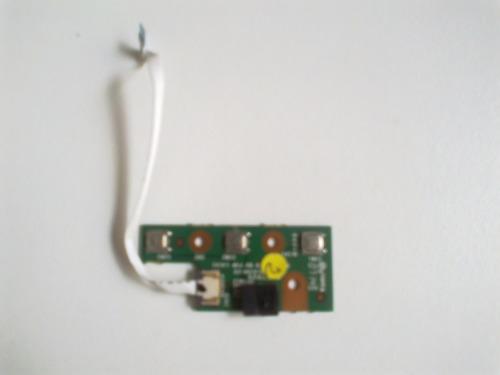 placa botão power cce ncv d5h8f pn: 35g5l4100 c0 e157925