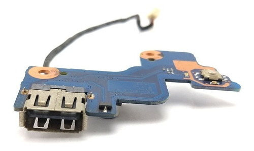 placa botão power e usb samsung rv411 rv415 ba92-07502a