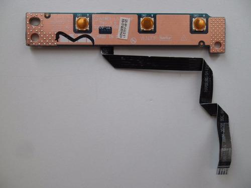 placa botão power lenovo g460-20041 p/n: niwe1 ls-5751p