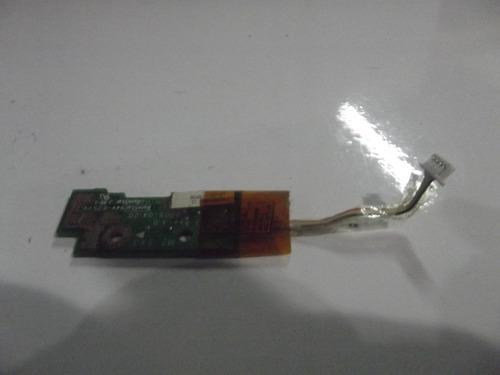 placa botão power notebook hp compaq presario nx6115