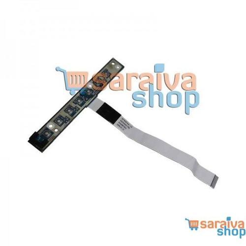 placa botão power toshiba equium m50 m55 m70 satellite pro m