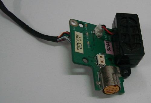 placa botão power toshiba sti is 1454   da0sw7pi8c0