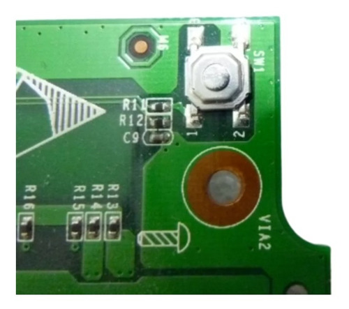 placa boton de encendido para notebook ox pc-91301 olidata