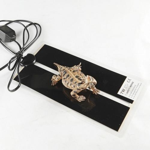 placa calefactora 7 watts - 15x28 cms erizos reptiles hurón