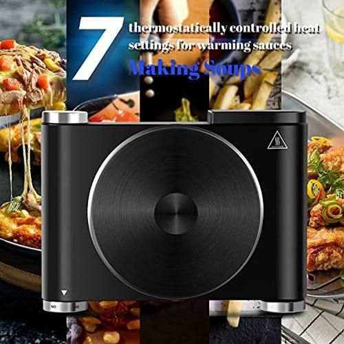 placa calefactora eléctrica para cocinar quemador indi...