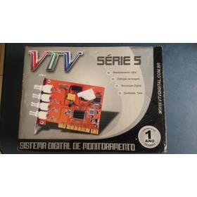 Placa Câmera De Segurança Vtv Vt-5104, Novinha, Baixou!!!