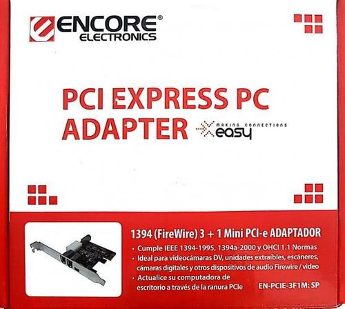 placa capturadora de video firewire dv ieee 1394 con cable