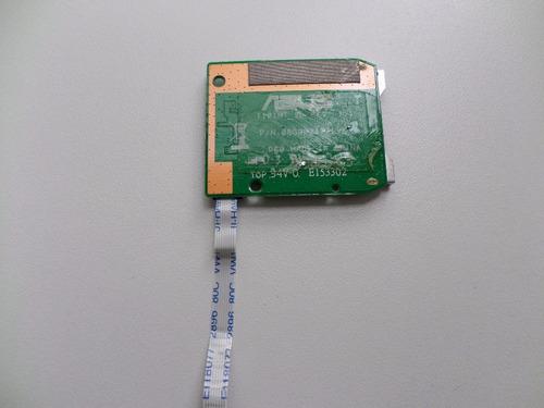 placa cartão sd netbook asus eee pc t101mt