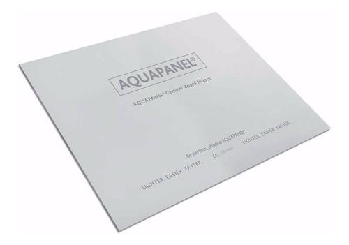 placa cementicia - aquapanel knauf 12.5mm 1200x2400