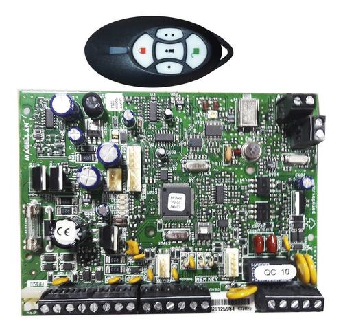 placa central alarme wireless com controle remoto paradox