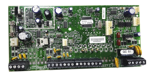 placa central de alarme 32 zonas spectra sp5500nb paradox