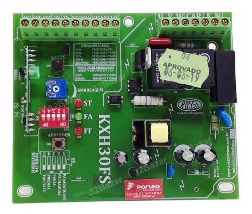 placa central portão eletrônico rossi kxh30fs original