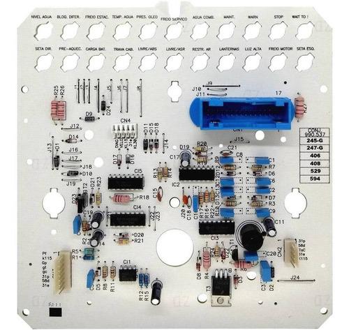 placa circuito painel de instrumentos caminhão vw 12 e 24v